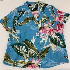 Guess Los Angeles Hawaiian Shirt. J1